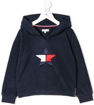 Tommy Hilfiger Junior star embroidered hoodie