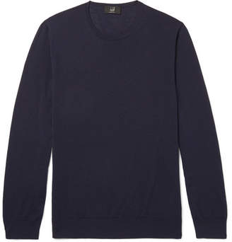 Dunhill Merino Wool Sweater - Men - Navy