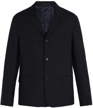 Stella McCartney Three-button single-breasted wool blazer
