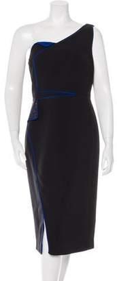 Antonio Berardi One-Shoulder Midi Dress w/ Tags
