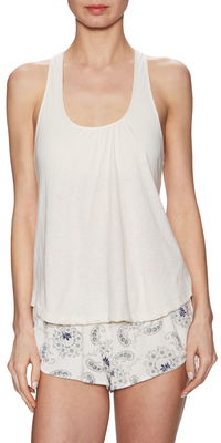 Solid Scoopneck Tank $79 thestylecure.com