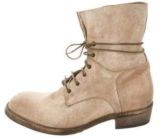 ARI Kelvin Suede Military Boots w/ Tags