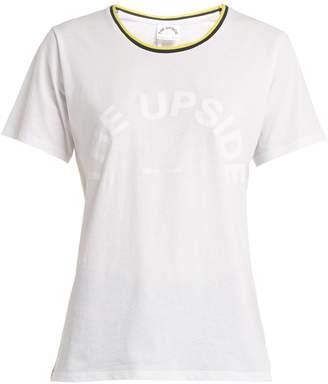 The Upside Lucia sheer cotton T-shirt