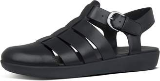 FitFlop Abi Fisherman Leather Back-Strap Sandals