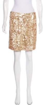 Vince Sequined Mini Skirt