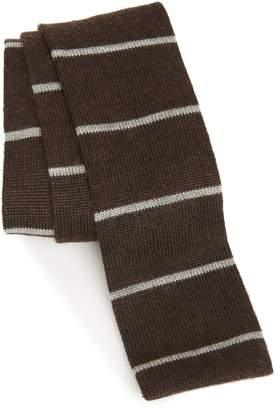 Eleventy Knit Cashmere & Silk Tie