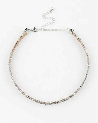 Le Château Glitter Choker Necklace