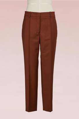 Jil Sander Cropped Woolen Pants