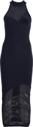Cushnie et Ochs Sleeveless Mock Neck Knit Dress
