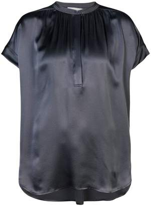 Vince pleated front blouse