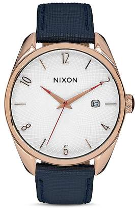 Nixon Bullet Leather Watch, 38mm