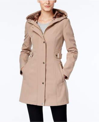 Via Spiga Water-Resistant Hooded Coat