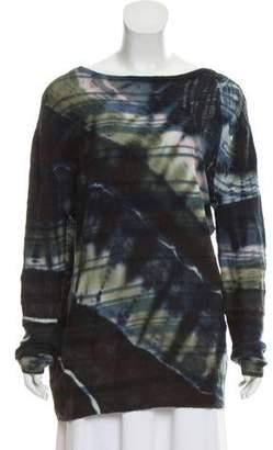Raquel Allegra Wool Distressed Sweater