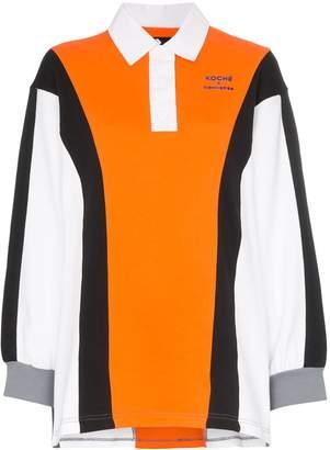 Converse X Koché oversized polo shirt