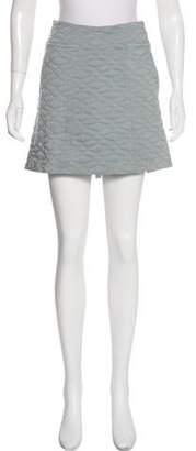 Theyskens' Theory Textured Mini Skirt w/ Tags