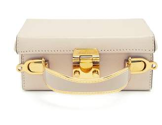 Mark Cross Grace Small Saffiano Leather Box Bag - Womens - Ivory
