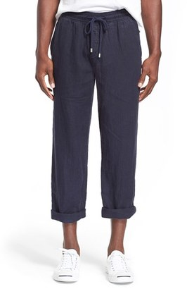 Men's Vilebrequin 'Pacha' Linen Pants $280 thestylecure.com