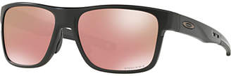 Oakley OO9361 Men's Crossrange Prizm Square Sunglasses, Black