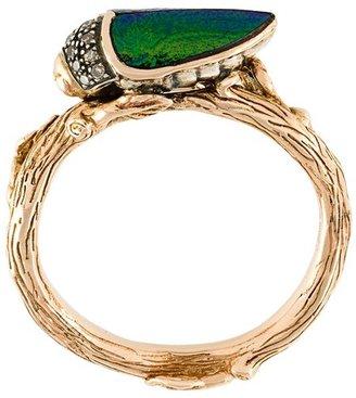 Bibi Van Der Velden 'Stackable Scarab' ring