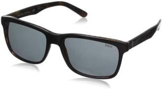 Polo Ralph Lauren Men's 0PH4098 Square Sunglasses