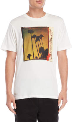 Franklin & Marshall Milk Palm Photo Tee