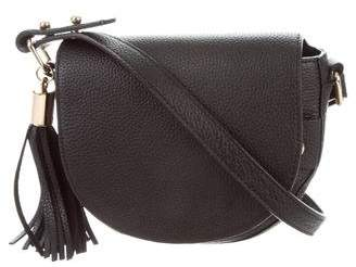 Milly Pebbled Leather Crossbody Bag