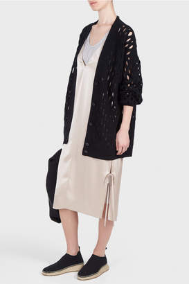 Alexander Wang Oversized Fishnet Cardigan