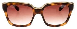 Zac Posen Nico Tortoiseshell Sunglasses