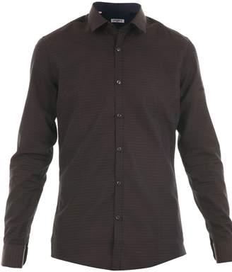 Ungaro Slim Fit Micro Fantasy Jacquard Shirt