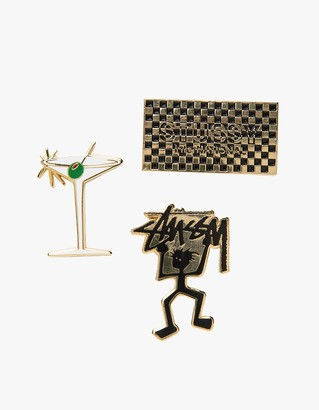 Stussy HO16 Pin Set $40 thestylecure.com