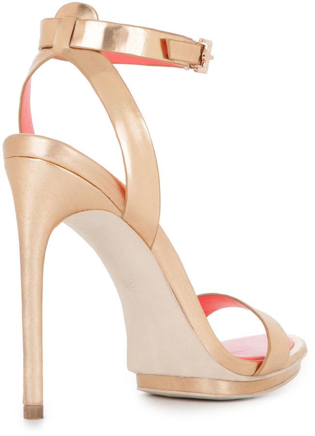 BCBGMAXAZRIA Finite High-Heel Ankle-Strap Sandal