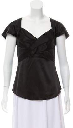 Zac Posen Ray Silk Blouse w/ Tags
