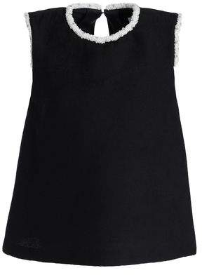 Sandro Embellished Woven Top