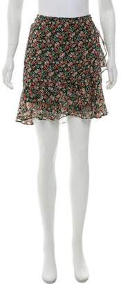 Rebecca Minkoff Flora Ruffle-Accented Skirt