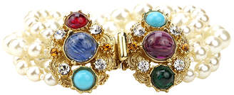 Ben-Amun Ben Amun Byzantine Pearl Strand Bracelet