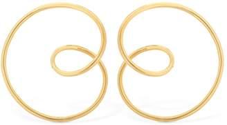 Mismatched Big Hoop Earrings