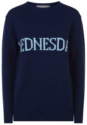 Alberta Ferretti Wednesday Long Sweater