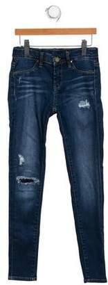 Blank NYC Girls's Distressed Skinny Jeans