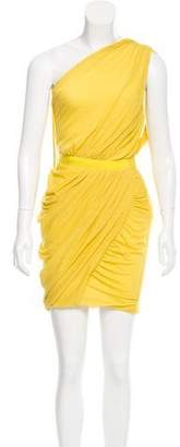 Giambattista Valli Draped One-Shoulder Dress