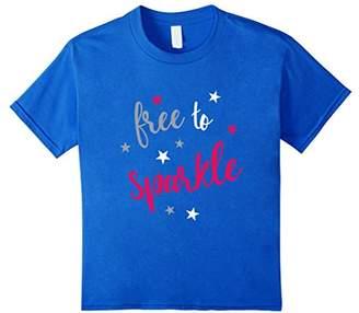 Free To Sparkle Patriotic T-Shirt