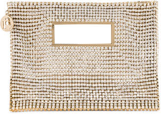 Rosantica Iside Bag in Gold With Crystals | FWRD