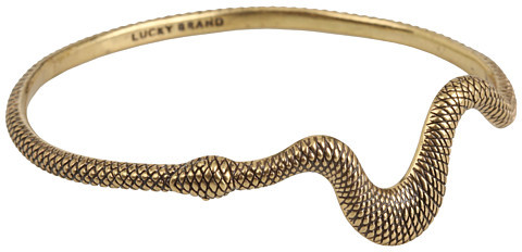 Lucky Brand - Gold Serpent Bangle