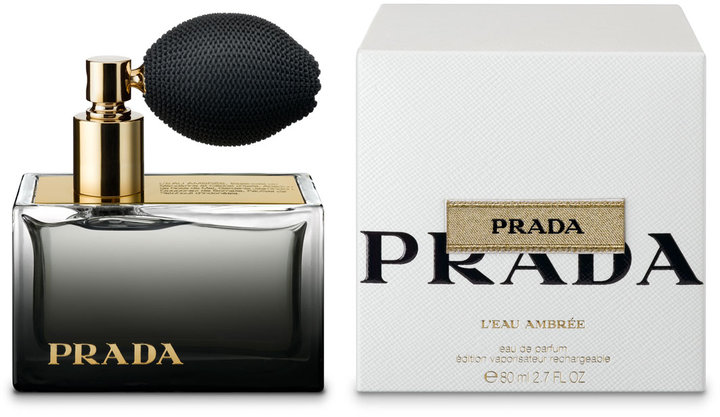 Prada Beauty L'eau Ambree Deluxe Refillable Atomizer