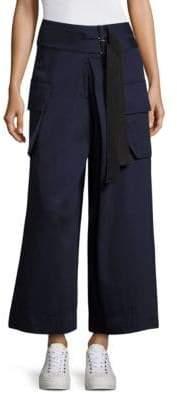 Public School Afia Cotton Wide-Leg Pants