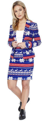 OPPOSUITS OppoSuits Womens Christmas Suit Miss Rudolph