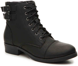 Madden-Girl Flint Combat Boot - Women's