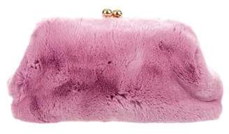 Blood & Honey Fur Clutch Bag w/ Tags