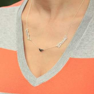 Monogram Online Couples Name Necklace