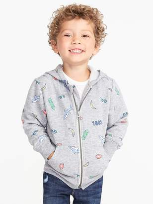 Old Navy Printed Fleece Hoodie for Toddler Boys