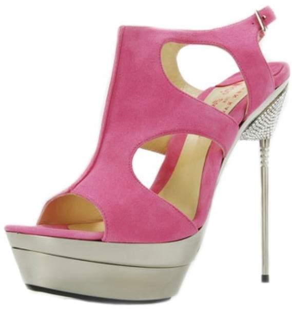 Pink Suede Heels - ShopStyle Australia